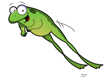 LEAP frog graphic