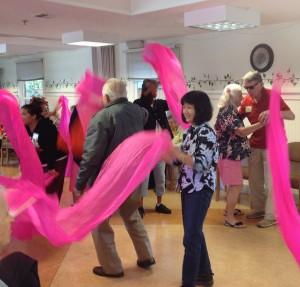 Pink scarves 11.13